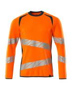 19084-781-1444 Sweatshirt - hi-vis oranje/donkerpetrol