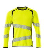 19084-781-17010 Sweatshirt - hi-vis geel/donkermarine