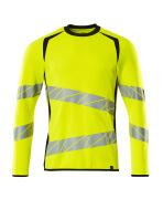 19084-781-1709 Sweatshirt - hi-vis geel/zwart