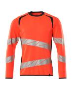 19084-781-22210 Sweatshirt - hi-vis rood/donkermarine