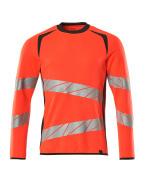 19084-781-22218 Sweatshirt - hi-vis rood/donkerantraciet