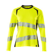 19091-771-14010 T-shirt, met lange mouwen - hi-vis oranje/donkermarine
