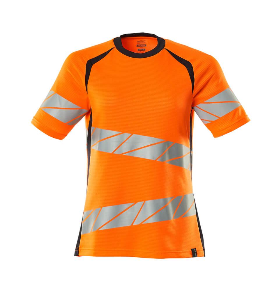19092-771-14010 T-shirt - hi-vis oranje/donkermarine