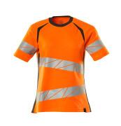 19092-771-1418 T-shirt - hi-vis oranje/donkerantraciet