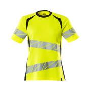 19092-771-17010 T-shirt - hi-vis geel/donkermarine