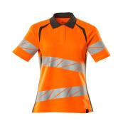 19093-771-1418 Poloshirt - hi-vis oranje/donkerantraciet