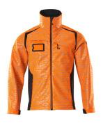19202-291-14010 Softshell jas - hi-vis oranje/donkermarine