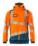 19301-231-1444 Shell jas - hi-vis oranje/donkerpetrol