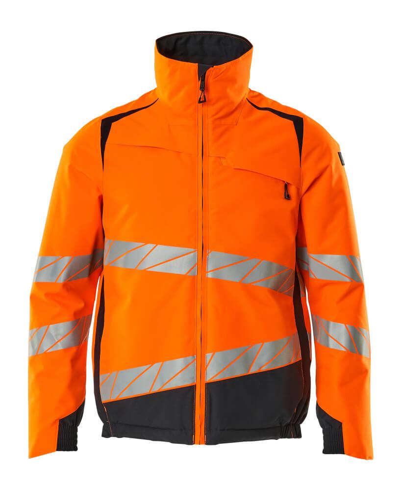 19435-231-14010 Winterjas - hi-vis oranje/donkermarine