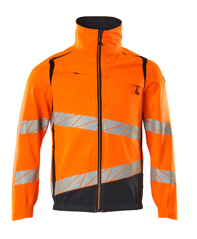 19509-236-14010 Jas - hi-vis oranje/donkermarine