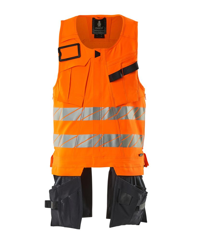 19589-711-14010 Gereedschapsvest - hi-vis oranje/donkermarine