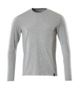 20181-959-08 T-shirt, met lange mouwen - grijs-melêe