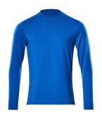 20181-959-91 T-shirt, met lange mouwen - helder blauw