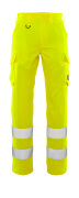 20859-236-14 Broek met dijbeenzakken - hi-vis oranje