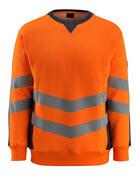 50126-932-14010 Sweatshirt - hi-vis oranje/donkermarine