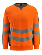 50126-932-1418 Sweatshirt - hi-vis oranje/donkerantraciet
