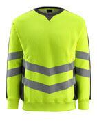 50126-932-1709 Sweatshirt - hi-vis geel/zwart