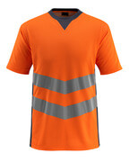 50127-933-14010 T-shirt - hi-vis oranje/donkermarine