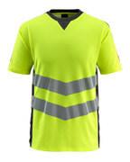 50127-933-1709 T-shirt - hi-vis geel/zwart