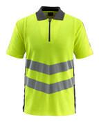 50130-933-1718 Poloshirt - hi-vis geel/donkerantraciet