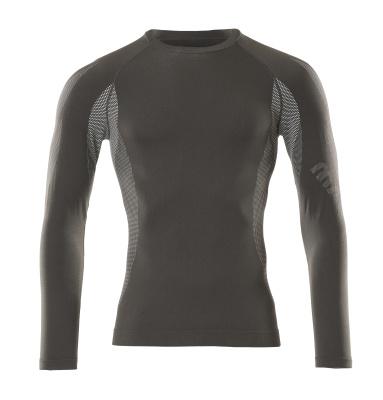 50178-870-18 Functioneel hemd - donkerantraciet