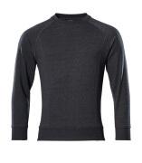 50204-830-73 Sweatshirt - zwart denim