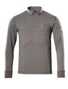50352-833-118 Polosweatshirt - lichtantraciet