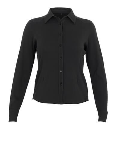 50367-863-09 Overhemd - zwart