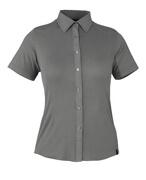50374-863-118 Overhemd, met korte mouwen - lichtantraciet