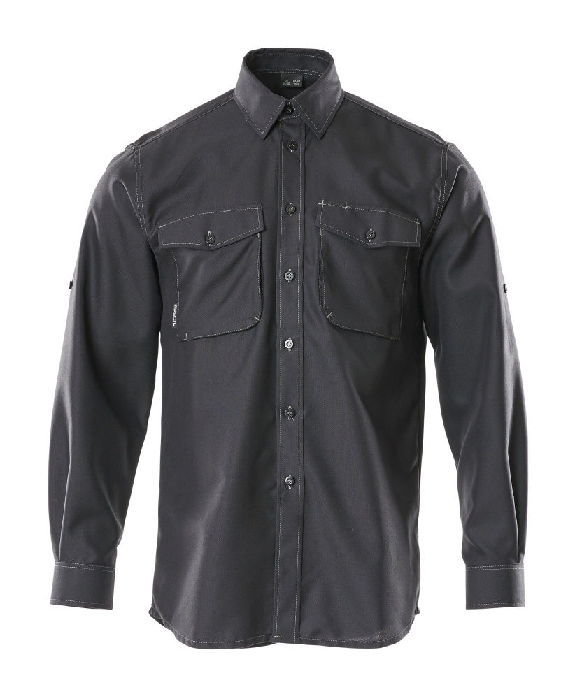 50376-024-09 Overhemd - zwart