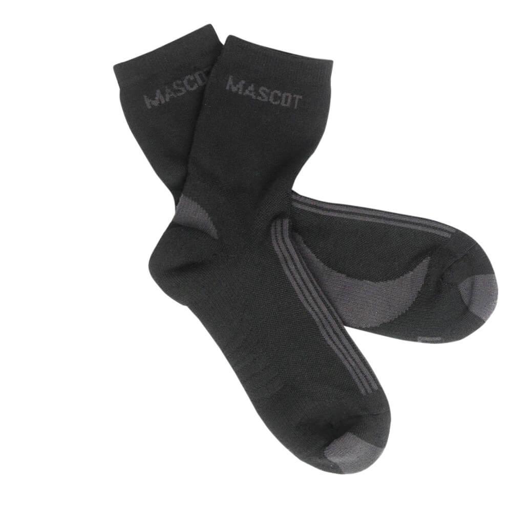 50410-881-0918 Sokken - zwart/donkerantraciet