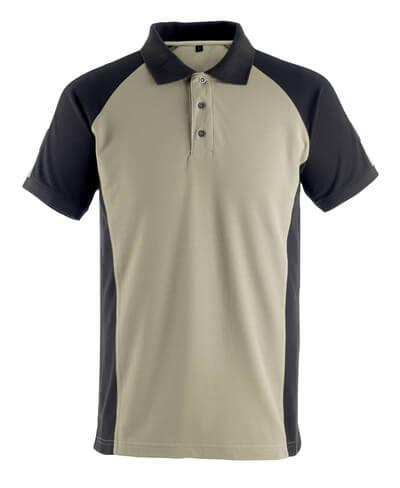50502-260-5509 Poloshirt - lichtkhaki/zwart