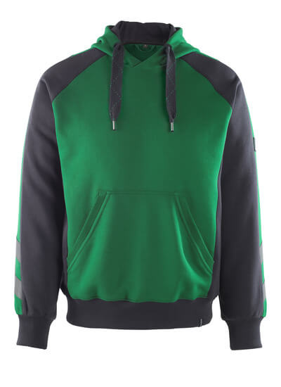 50508-811-0309 Capuchontrui - groen/zwart
