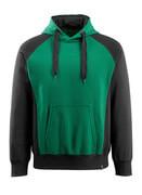 50572-963-0309 Capuchontrui - groen/zwart