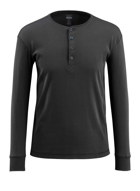 50581-964-09 T-shirt, met lange mouwen - zwart