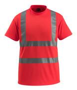 50592-976-222 T-shirt - hi-vis rood