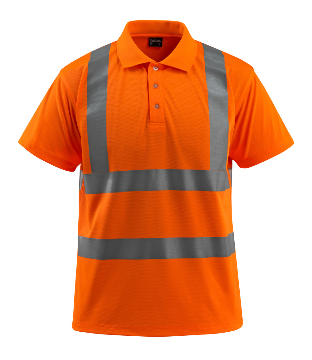 50593-972-14 Poloshirt - hi-vis oranje