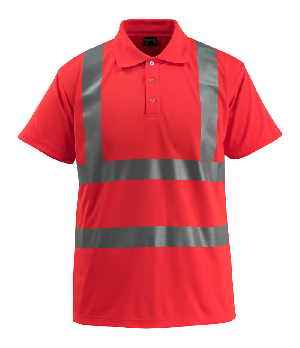 50593-976-222 Poloshirt - hi-vis rood