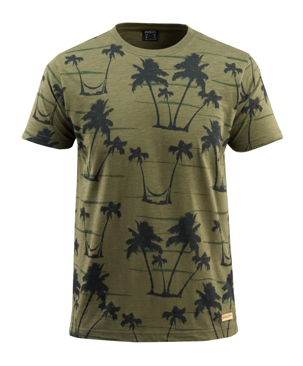 50596-983-33 T-shirt - mosgroen