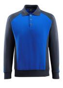 50610-962-11010 Polosweatshirt - korenblauw/donkermarine