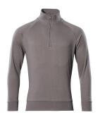 50611-971-888 Sweatshirt met korte rits - antraciet