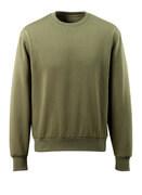 51580-966-33 Sweatshirt - mosgroen