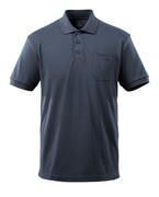 51586-968-010 Poloshirt met borstzak - donkermarine