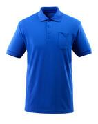 51586-968-11 Poloshirt met borstzak - korenblauw