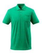 51586-968-333 Poloshirt met borstzak - helder groen