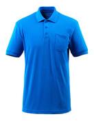 51586-968-91 Poloshirt met borstzak - helder blauw