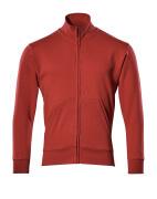 51591-970-02 Sweatshirt met rits - rood