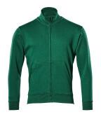 51591-970-03 Sweatshirt met rits - groen