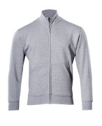 51591-970-08 Sweatshirt met rits - grijs-melêe