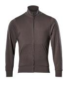 51591-970-18 Sweatshirt met rits - donkerantraciet
